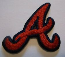 "Atlanta Braves Embroidered PATCH~1 7/8"" x 1 7/8""~Iron Sew On~MLB~US Ships FREE"