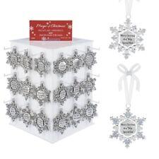 Ganz H8 Magic of Christmas Snowflake Zinc Ornament 3in EX22630 Choose