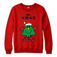 Little Men Christmas Jumper, Little Mr Xmas Gift Festive Adult & Kids Jumper Top