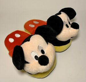 EEUC MICKEY MOUSE DISNEY Stompeez Ears Wiggle Slippers Kids Small Toddler 8/10