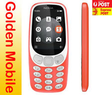 "Brand New Unlocked Nokia 3310 3G Red 2.4""  Mobile Phone Au Stock"