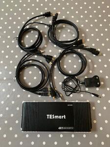 TESmart 4 Port KVM Switch HDMI 4K@60Hz