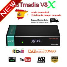 GTMedia V8X DVB-S/S2/S2x Satellite Receiver Upgrade From V8 Nova 1080P H.265