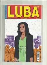 LUBA   #1 . (FANTAGRAPHICS COMICS)