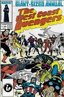 Avengers West Coast Annual Comic 2 Copper Age First Print 1987 Englehart Marvel