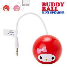 Sanrio My melody Buddy Ball Mini Speaker iphone walkman accessory New JAPAN