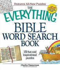 The Everything Bible Word Search Book : 150 Fun and & inspirational puzzles