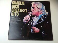 Charlie Rich Greatest Hits LP Vinyl