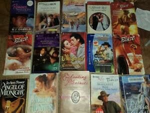 harlequin romance books lot