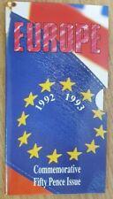 More details for 1992/1993 royal mint brilliant uncirculated eec 50p