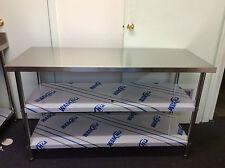 New Stainless Steel Kitchen Bench 1500x600x900