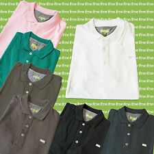 Men's No Pattern Short Sleeve Button Down Polo Casual Shirts & Tops
