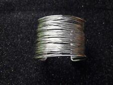 Manschette Schmuck mit Drähte- Silberne Perlen Armbänder Mode