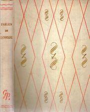 D53 Fables de La Fontaine ill. Auger 1949