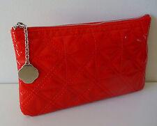 SHISEIDO Red Makeup Cosmetics Bag, Brand NEW!!