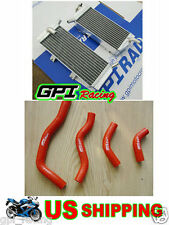 Radiator &hose Honda CRF 450X CRF450X 05-16 06 07 08 09 10 11 2011 2010 2009 13