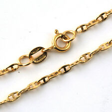 "MARINER ITALIAN CHAIN Solid Yellow Gold 18K men's bracelet 8.5"" MADE IN ITALY"