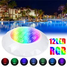 12V 50W RGB Swimming LED Pool Lights Spa Underwater Light IP68 Waterproof Lamp