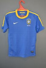 Brazil National Football Vintage Mens Shirt Jersey World Cup 2010 Youth L 5/5