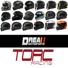 NEW TORC T14 MATTE FLAT GLOSSY FULL FACE MOTORCYCLE HELMET DOT XS-XXL