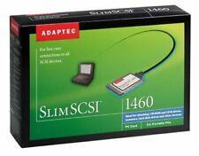 Adaptec SlimSCSI 1460B PCMCIA SCSI Adapter PC Card Kit in Box