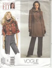 Jackets Slight Flare Fitted Vogue Sewing Pattern 2991 Betzina Uncut Bust 32-55