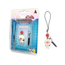 MOOGLE mini figure FINAL FANTASY THEATRHYTHM mascot strap PHONE CHARM square '13