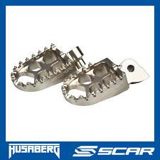 REPOSE CALE PIED EVO HUSABERG FE 250 350 501 FX 450 FS TE 250 300 TITANE SCAR