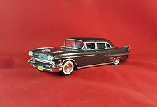 1958 CADILLAC FLEETWOOD LIMOUSINE 1/43 SUNSET COACH BY MOTOR  CITY WHITE METAL