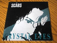 "THE SCABS - CRYSTAL EYES      7"" VINYL PS"