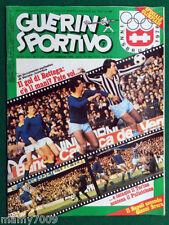 GUERIN SPORTIVO=N,7 1976 ANNO LXIV=DOPPIO INSERTO FILM DEL CAMPIONATO=BETTEGA=IN
