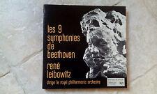 COFFRET 7 LP - BEETHOVEN / LEIBOWITZ - 9 SYMPHONIES / très bon état