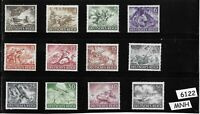 #6122   Complete MNH stamp set / Wehrmacht & other Military 1943 / Third Reich