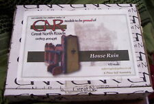 HOUSE RUINS  WWII Plaster Diorama 1/35 GREAT NORTH ROADS #039 4-PC