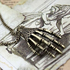 Bone Claws Necklace Pendant Cool Women Lady Man Unisex Necklace Bone Claws