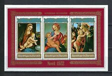 Burundi 1972 Sc#410a  Christmas-Paintings  MNH Souvenir Sheet $2.75