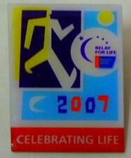 Relay for Life 2007 Pin Tac Cancer Celebrating Life Collectible Vintage