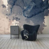 Ink splatter Self adhesive removable wallpaper Splash Vintage art Watercolor