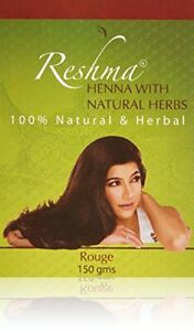 Reshma Henna Powder - Rouge -100% Natural/ Herbal Hair Color 150g+FREE GIFT