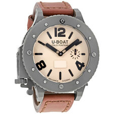 U-Boat U-42 Automatic Mens Leather Watch 6173