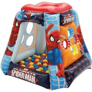 Ultimate Spider-Man Spider Power Inflatable Playland Ball Pit w/ Sof-Flex Balls