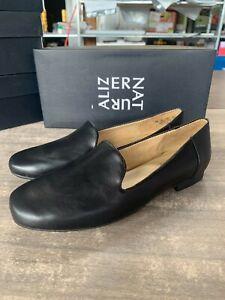 NEW Naturalizer Women's Kit2 Slip On Loafer Flat Black Leather Pick Size