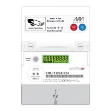 Emlite RFID Prepayment Electricity Card Meter with 50 Cards Landlord Flat House