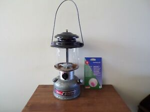 Vintage Coleman  Lamp for spares or repair untested used condition & mantles