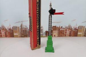 "Vintage Prewar Lionel No.82N Automatic Semaphore With Box - 14-3/4"" Tall"
