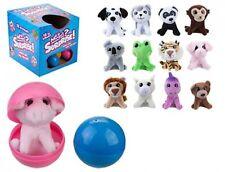 Plush Minipet Surprise Toy Animal in Capsule Assorted Kids Birthday Gift Idea