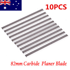 10pcs Planer Blades Reversible Carbide 82mm MAKITA HITACHI TOSHIBA AU Stock