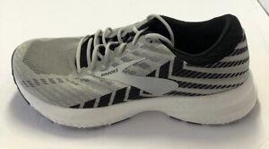 Brooks Launch 6 Men's Training Running Shoes Gray/Black/White Size 10 Medium (D)