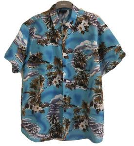 LOWES Vintage Mens Hawaiian Short Sleeve Shirt. Size XL-XXL. GUC