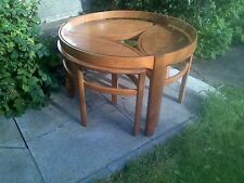 Teak Less than 60cm Round No Assembly Required Coffee Tables